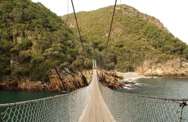 Tsitsikamma - Suspension Bridge - Storms River