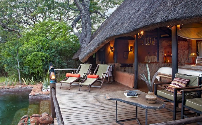 Stanley Safari Lodge - terras