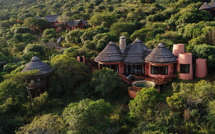 Thanda Game Lodge - Hluhluwe - Aanzicht