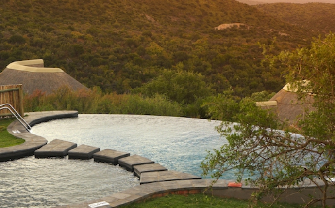 Kuzuko Lodge - Infinity Pool